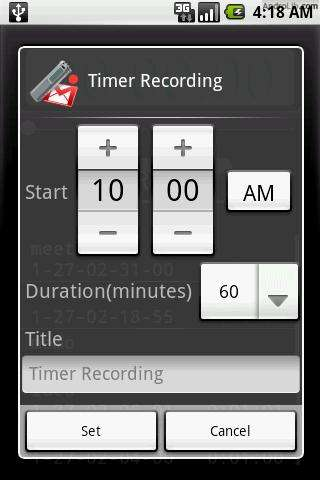 [SOFT] VOICE RECORDER : Transformer votre HTC en dictaphone [Gratuit] Qxi.u.cs