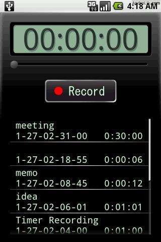 [SOFT] VOICE RECORDER : Transformer votre HTC en dictaphone [Gratuit] Qxn.u.cs
